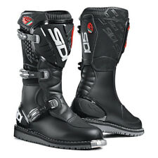 NEW SIDI COURIER MICROFIBRE  WATERPROOF TOURING ENDURO TRIALS  MOTORCYCLE BOOTS