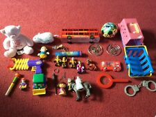Massive job lot bundle of kids toys figures plushies etc