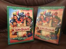 Disney-Lilo-Stich-and-Stitch-Has-a-Glitch Hawaiian 2 Movie DVD+Blu-ray] New,,OOP