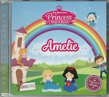 AMELIE THE BEST EVER PRINCESS SONGS AND STORIES PERSONALISED CHILDREN'S CD