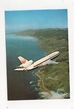 Japan Air Lines DC10 Aeroplane Aviation Postcard 647a