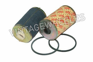 Dual Fuel Filter Set Pre Filter Insert Felt & Paper Massey Ferguson 135