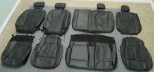 TAKEOFF 2015 - 2020 OEM FORD F150 SUPER CREW BLACK LEATHER SEAT UPHOLSTERY