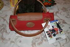 NEW WITH TAGS JOANN MARIE DESIGNS RED FOLD-UP MINI BIG BAG
