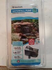 Beckett Waterfall Pump 1250 Gallons Per Hour FC1200 7218510 Sealed