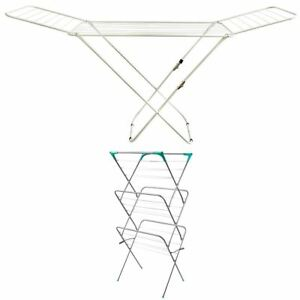Clothes Airer Horse Winged Tier Tower Indoor Laundry Dryer Rack By Home Discount