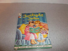 Vintage Twilight Tales Book A Rand McNally Elf Book 1962