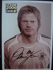 PANINI Bild Karte OLIVER Olie KAHN Card Fussball WM 06 FCB FC Bayern München DFB
