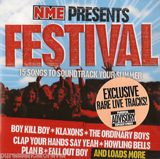 V/A - NME Presents... Festival (UK 15 Tk CD Album) (Sld) (New Musical Express)