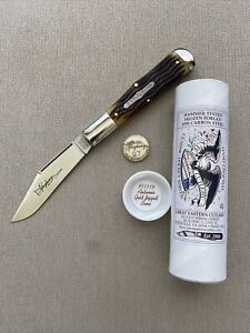 GEC #97 Allegheny Autumn Gold Jigged Bone Tidioute Cutlery PPP 971119