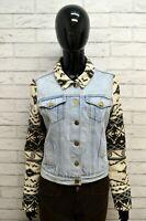 Giacca in Jeans Donna  MAISON SCOTCH Taglia Size S Jacket Woman Giubbotto Blu