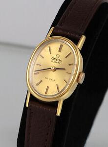 OMEGA De Ville Quartz Watch, Ladies, Very Good Condition, Keeping Time (1352)