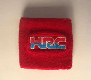 Motorcycle Brake Clutch Fluid Reservoir Tank Sock Sleeve Cover For HONDA HRC Red