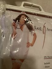 Leg Avenue Sexy Nurse Haloween Costume Woman