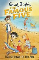 Five Go Down To The Sea: Book 12 (Famous Five) by Blyton, Enid, NEW Book, FREE &