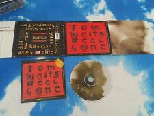 TOM WAITS - REAL GONE - EUROPE CD ALBUM - DIGI-PACK w/EMBOSSED LETTERING