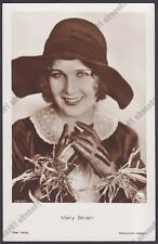 MARY BRIAN 09 ATTRICE ACTRESS CINEMA SILENT MOVIE - CAPPELLO HAT GUANTI GLOVES