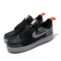 Nike Air Force 1 07 LV8 2 AF1 Under Construction Black Grey Men Shoes BQ4421-002