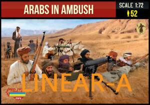1:72 FIGUREN M149 Arabs in Ambush - STRELETS - NEU