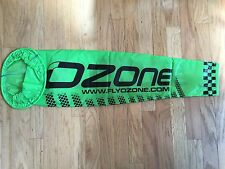 Small Green Ozone Wind Sock for Paramotoring and Paragliding