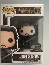Funko Pop! Game of Thrones Jon Snow #07 Wal-Mart Beyond the Wall Exclusive HTF