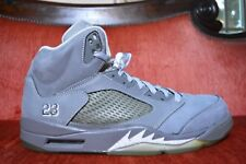 CLEAN Nike Air Jordan 5 Wolf Grey Gray 2011 OG ALL 136027-005 White Size 13