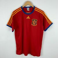 Adidas Spain Football Jersey Shirt 2010 Mens Medium Short Sleeve Retro Soccer
