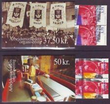 Denmark Topical Postal Stamp Booklets