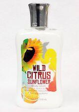 1 Bath & Body Works WILD CITRUS SUNFLOWER Body Lotion / Hand Cream