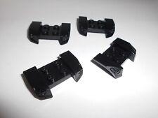 Lego (44674) 4 Kotflügel 2x4, in schwarz aus 8681 8495 8364 8154