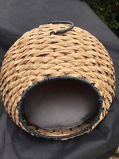 Wicker Pet Igloo - 40cm X 40cm - Unused Present