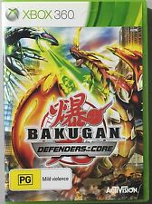 Bakugan Defenders of the Core Pal Xbox 360 Game (Very Good Cond) EXPRESS POST