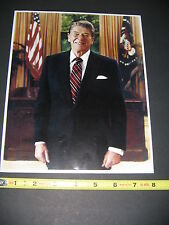 Ronald Reagan Picture 1991 Dedication Reagan Library FREE SHIP