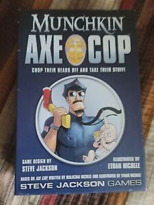 Steve Jackson Munchkin: Axe Cop Card Game OOP, Rare