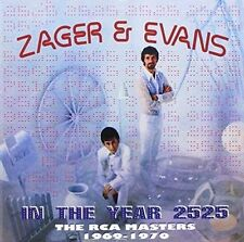 ZAGER & EVANS - IN THE YEAR 2525: RCA MASTERS 1969-1970 NEW CD