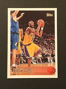 1996-97 Topps Kobe Bryant Rookie RC #138 Lakers GOAT
