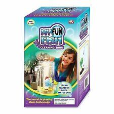 Self Cleaning Aquarium My Fun FISH TANK Complete Kit with Light-Small Fish Tank