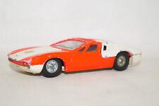 Dinky Toys 187 De Thomaso Mangusta 1/43 weiss rot 70er