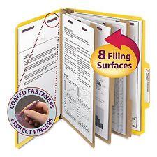"Smead 14098 3"" Expansion Classification Folder  2/5 Cut  Letter  8-Section"