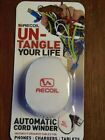 NIP Recoil UN-TANGLE Your Life Spring-loaded Automatic Cord Winder LBB-11