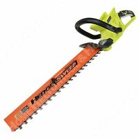 "Ryobi RY40601 40V Li-ion Cordless 24"" Dual Action Hedge Trimmer w/ Sweep New"