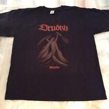 DRUDKH Mavka Copper Shirt XL,Azarath, The Chasm, Inquisition, Urgehal, Urfaust
