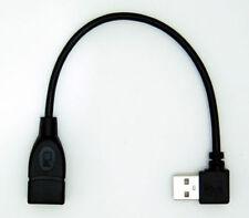 Câbles, hubs et adaptateurs USB avec adaptateur à angle droit