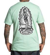 Sullen Art Collective Chola Girl Neptune Green Tattoo Mens T Tee Shirt SCM1609