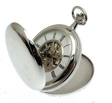 Pocket Watches For Men Gifts For Men Double Hunter Pocket Watches With Chain