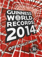 Guinness World Records, Guinness World Records 2014, UsedVeryGood, Hardcover