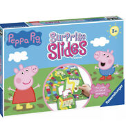 [Brand New ]Ravensburger PEPPA PIG SURPRISE SLIDES Board Game Toys Puzzles 21383