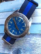 Vintage Rodania Swiss Made Hand-winding Mens Diver Watch 36,2mm