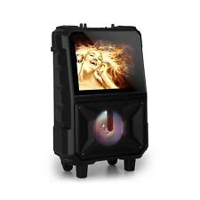 *B-WARE* Mobile Karaoke Anlage Maschine Lautsprecher Display Box Bluetooth USB