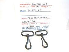 WINCHESTER 70 PRE 64  ( SET OF 2 FISH HOOK SWIVELS. LARGE SIZE ) (ITEM # J-3153)